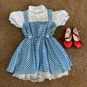 Dorothy costume & ruby red slippers